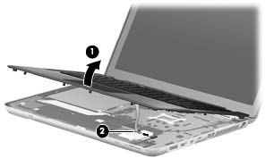 Replace HP Envy 14 Keyboard-9