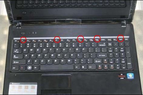 Replace / Remove Lenovo G570 Z570 Keyboard