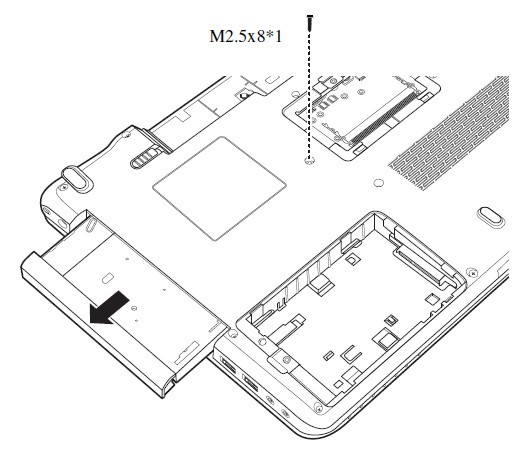 Remove Toshiba Satellite A660 A665 Lcd Hinges