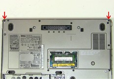 Dell Latitude D620 / D630 Hinges -1