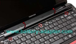 Remove Toshiba Satellite L600 / C640 keyboard-3