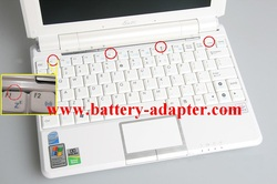 Replace Asus EEE PC 1000H Keyboard-1