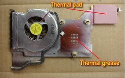 Replace Thainkpad T43 CPU Fan-8