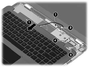 Replace HP Envy 14 Keyboard-10