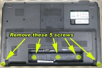 Replace HP Pavilion DV6 Keyboard-1