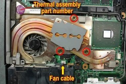 Replace Thainkpad T43 CPU Fan