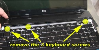 Replace HP Pavilion DV6 Keyboard-3