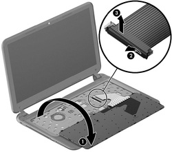Replace HP Pavilion Sleekbook 14 keyboard-4