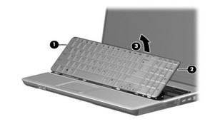 Replace HP G61 / Compaq  CQ61 keyboard-4