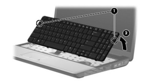 Replace HP G60 / Compaq CQ60 Keyboard-2