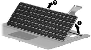 Replace HP Envy 14 Keyboard-12