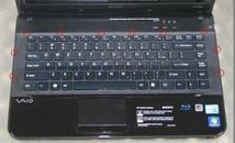 Replace the Sony Vaio VPC-EA keyboard-2
